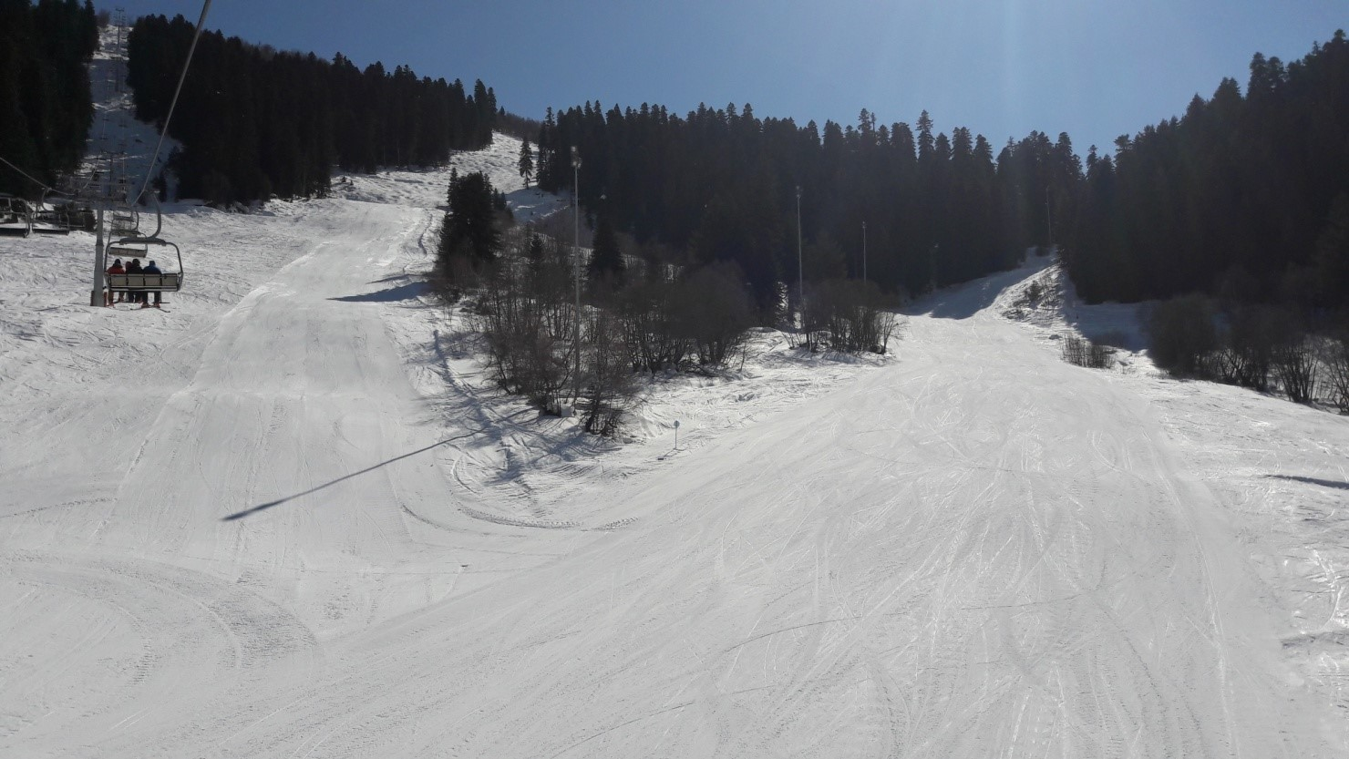 Acclimatization and warm up day at Hatsvali resort