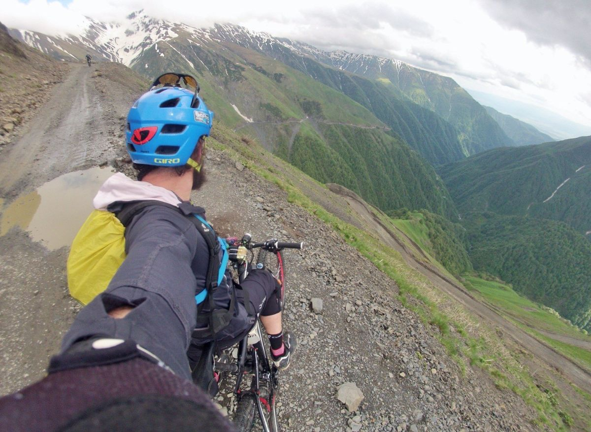 Tusheti MTB tour 2016 part 2 - Back to Sunshine and dry trails.