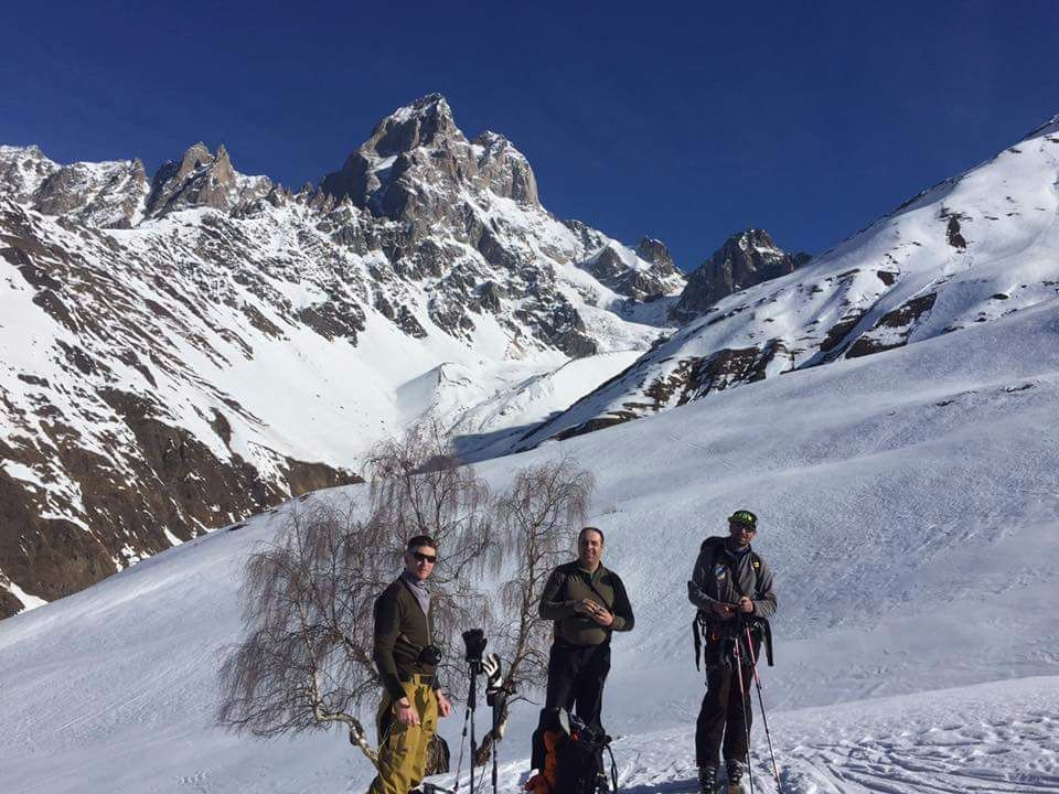 Ski touring in the Mountains of Svaneti, The Republic of Georgia