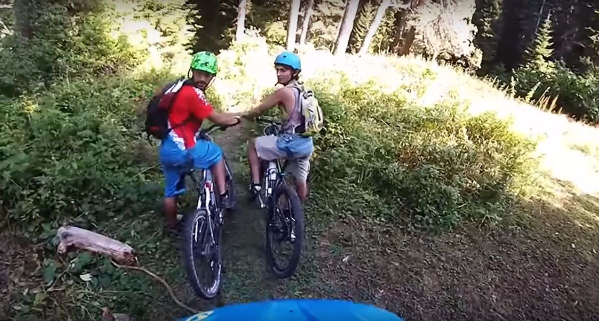 Mountain biking in Borjomi National Park