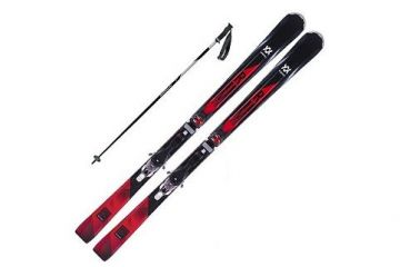 Alpine Skis And Poles