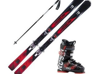 Advanced Alpine Ski set