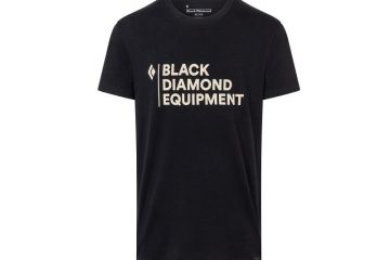 BlackDiamond STACKED LOGO TEE - MEN'S BLK