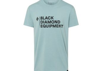 BlackDiamond STACKED LOGO TEE - MEN'S