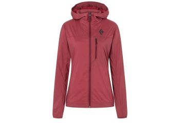BlackDiamond ALPINE START HOODY - WOMEN'S WILD ROSE