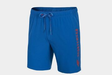 4F MEN'S BEACH SHORTS BLUE