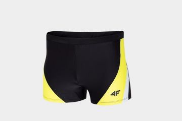 4F MEN'S SWIM SUIT YELLOW