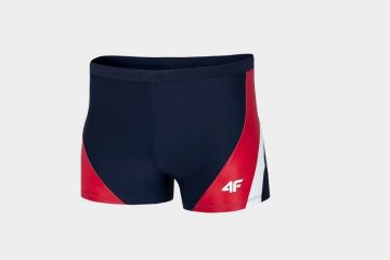 4F MEN'S SWIM SUIT RED