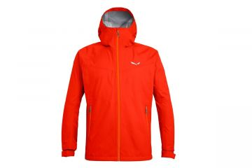 SALEWA PUEZ AQUA 3 POWERTEX HARDSHELL MEN'S JACKET RED