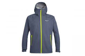 SALEWA PUEZ AQUA 3 POWERTEX HARDSHELL MEN'S JACKET Grey