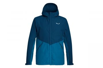 SALEWA PUEZ POWERTEX 2 LAYERS HARDSHELL MEN'S JACKET Blue
