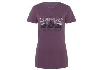 BlackDiamond RISE AND CLIMB TEE - WOMEN'S