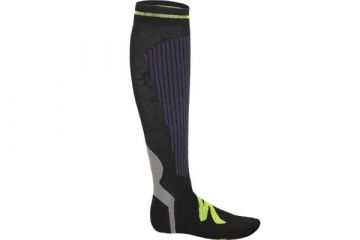 SPECIALIZED GRADUATED COMPRESSION SOCK ANTHRACITE/NEON YELLOW