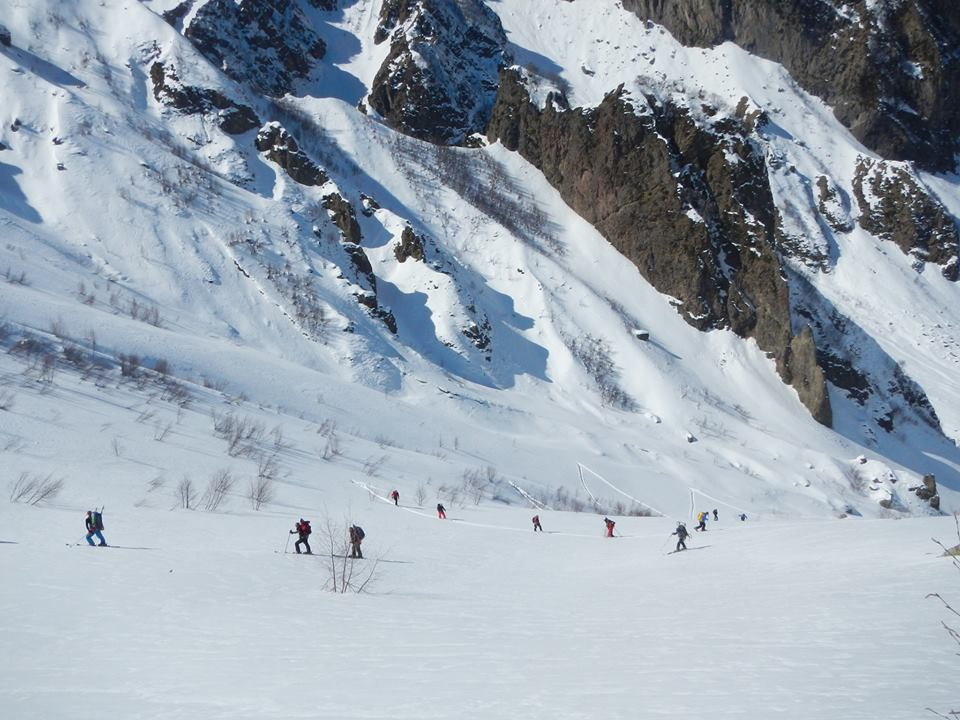 1 Day Backcountry Ski tour. Mleta - Lomisi Ridge - Mt. Bidara